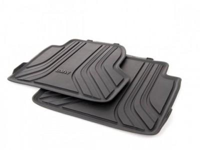 Резиновые коврики для BMW F32 4-серия, задние (BMW)
