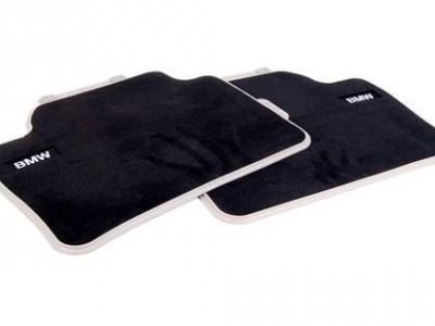 Велюровые коврики Modern Line для BMW F32 4-серия, задние (BMW) (Original)