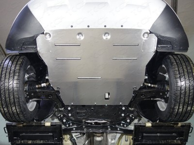 Защита картера (TCC) для Ford Kuga 2016- н.в., (алюминий) 4 мм